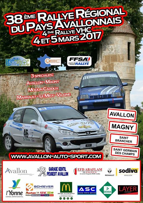 forum rallye avallon