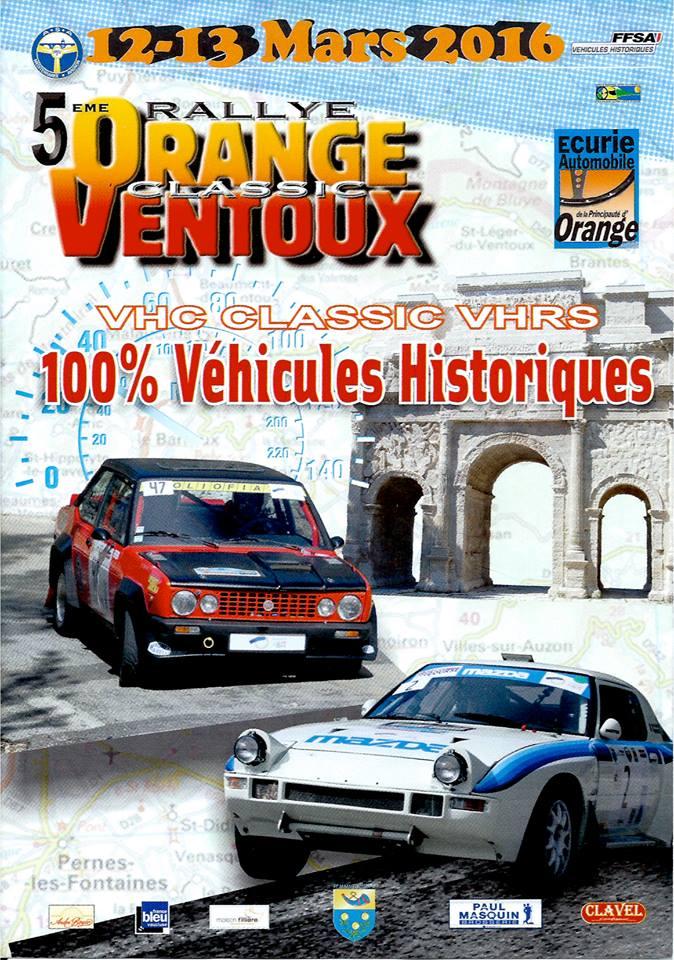 forum rallye orange ventoux