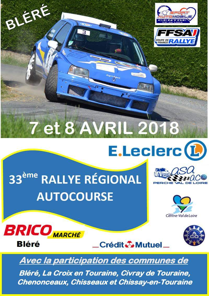 Rallye indre 2018