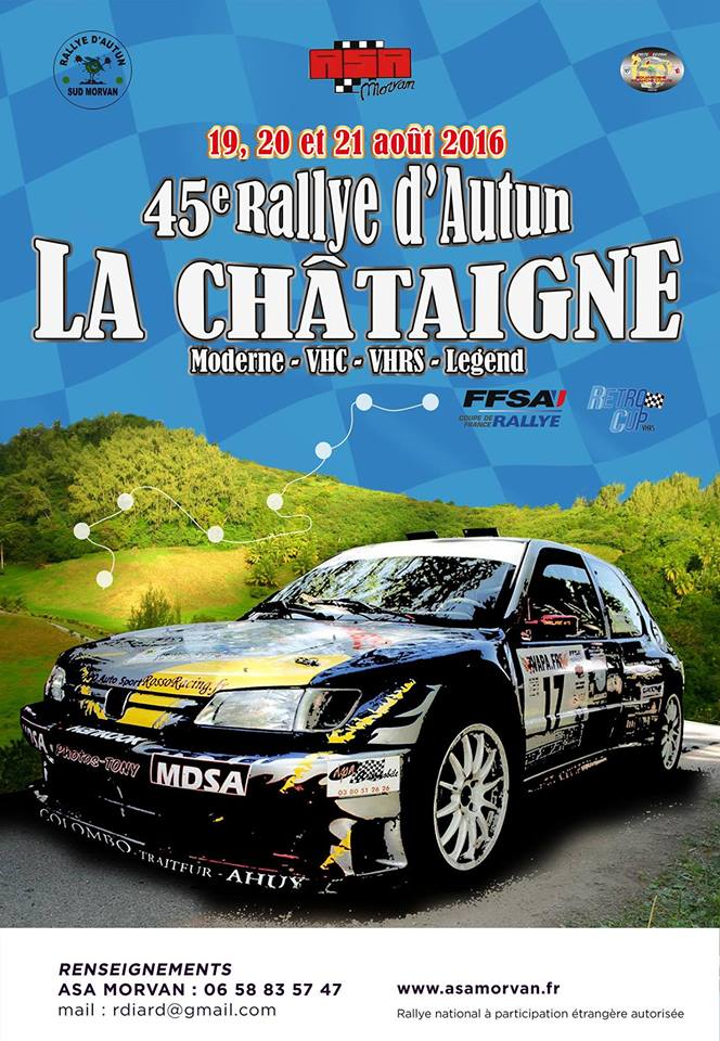 forum rallye d'autun 2015