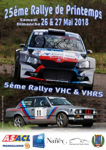 Rallye de lorraine 2018