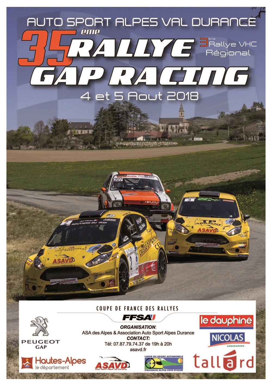 Rallye 4 et 5 aout 2018