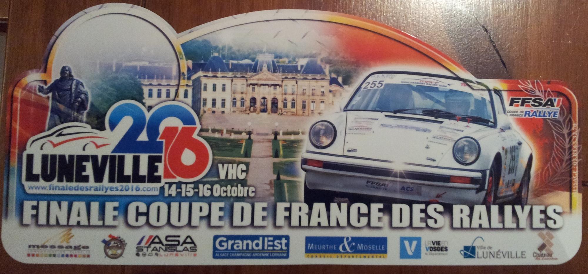 Finale finale de la coupe de france des rallyes 2016 13 16 octobre page 145 rallyes - Coupe de france des rallyes ...