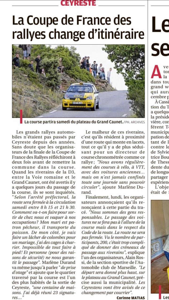 Finale finale de la coupe de france des rallyes 2017 12 15 octobre page 70 rallyes - Coupe de france des rallyes ...