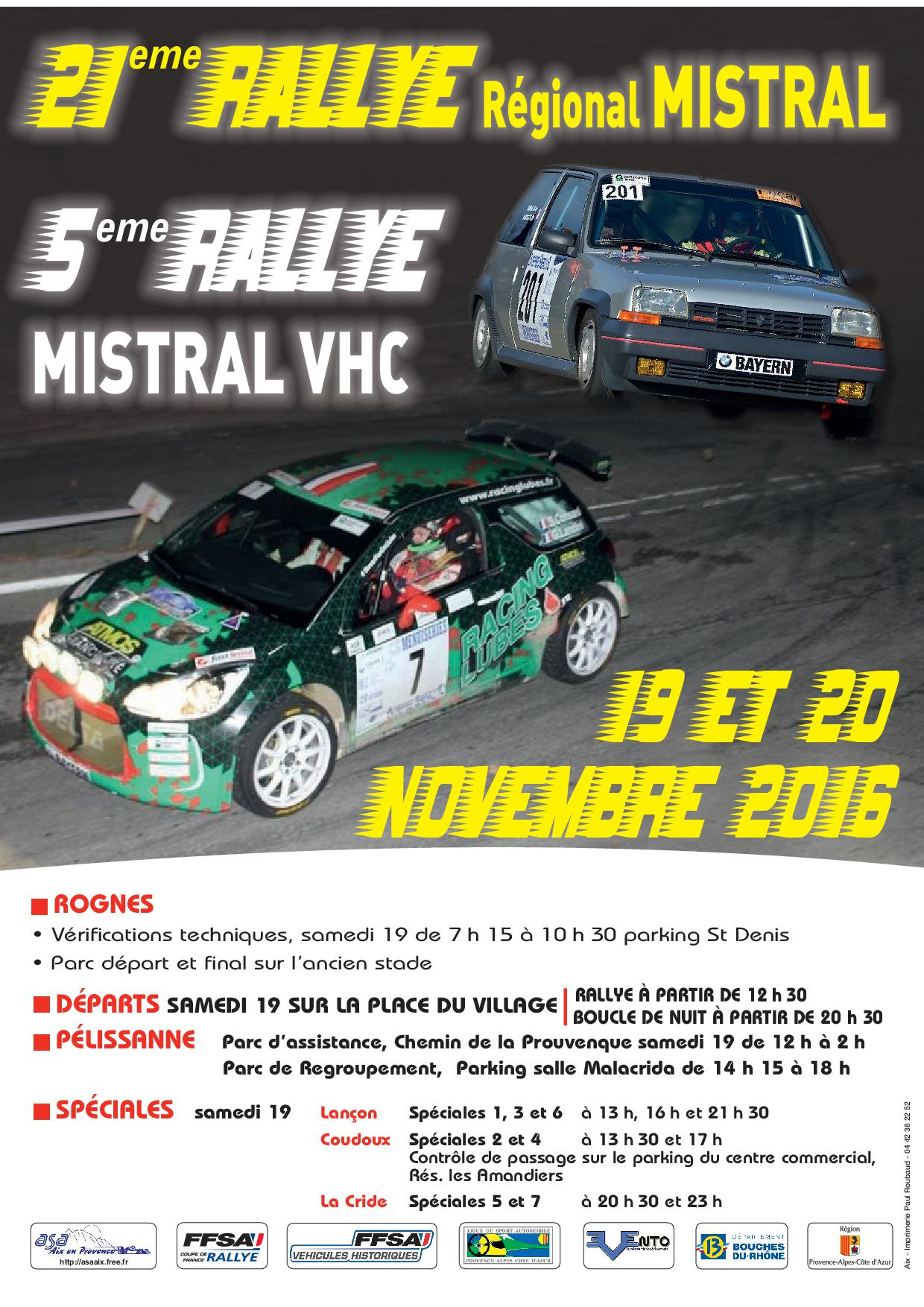 forum rallye herault 2016